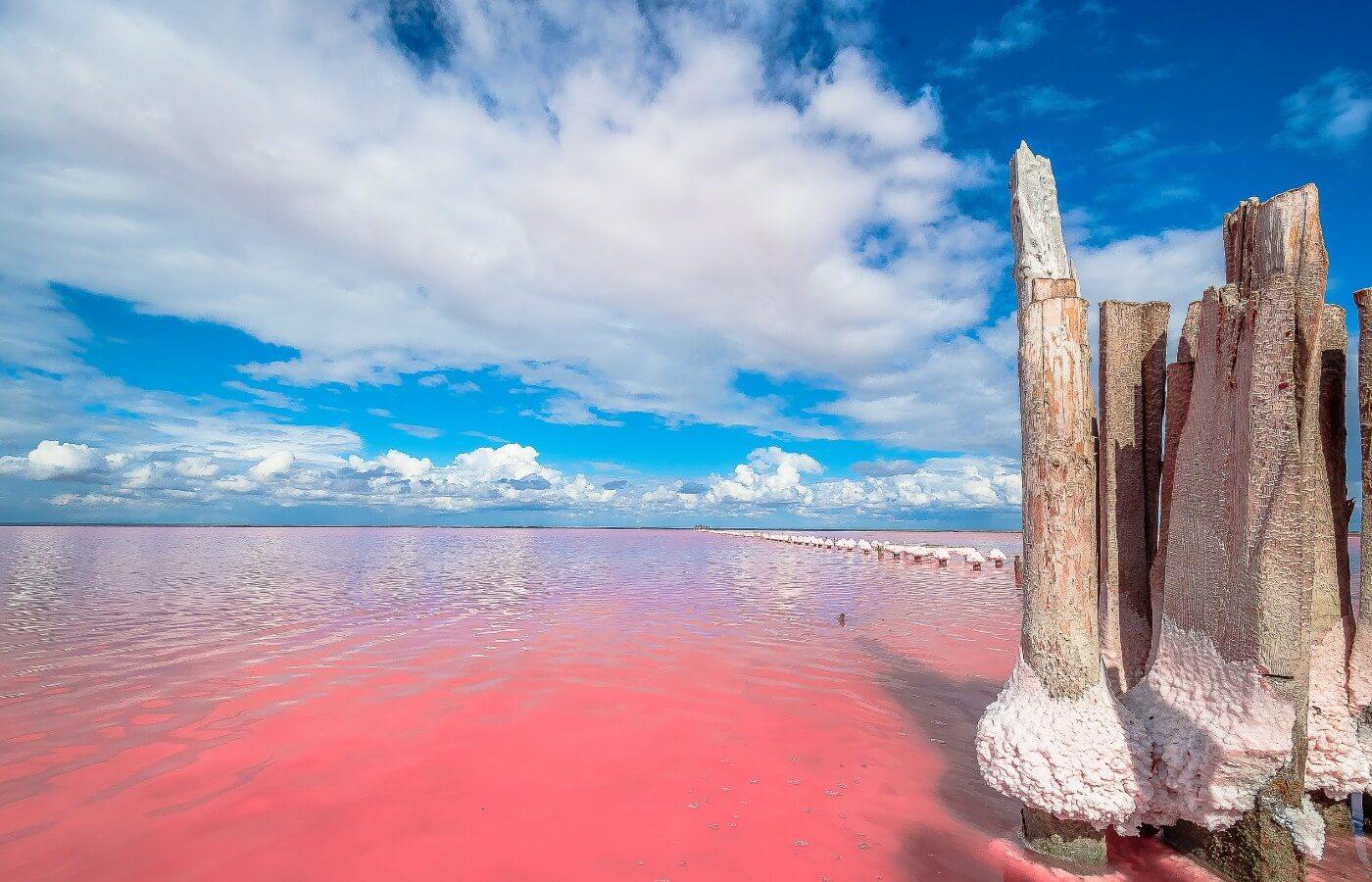 Евпатория и Розовые озера