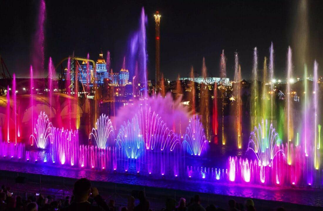 Вечерний Олимпийский Парк