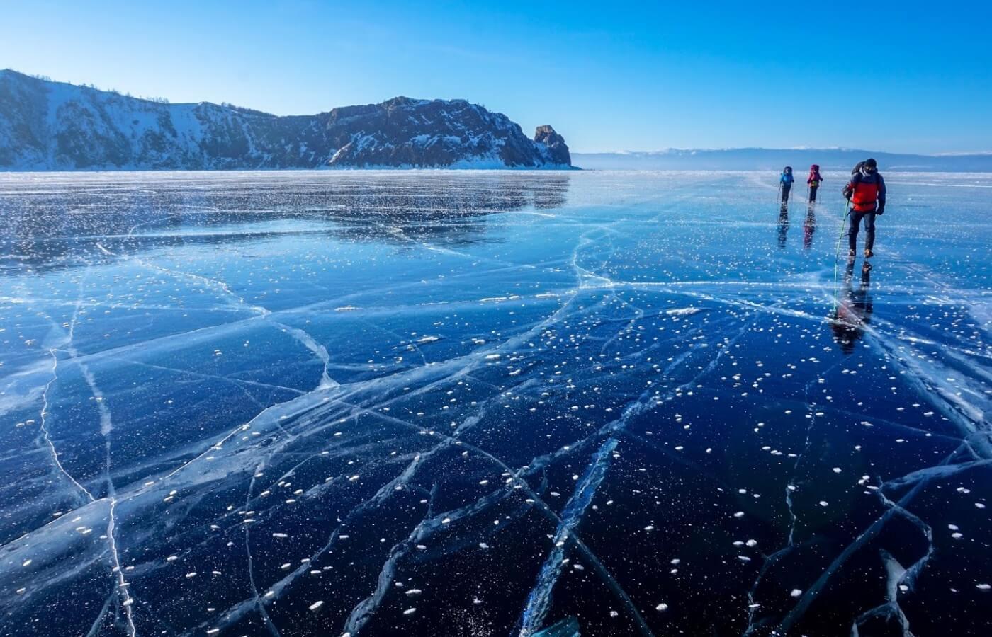 Экскурсия Зимний лёд Байкала