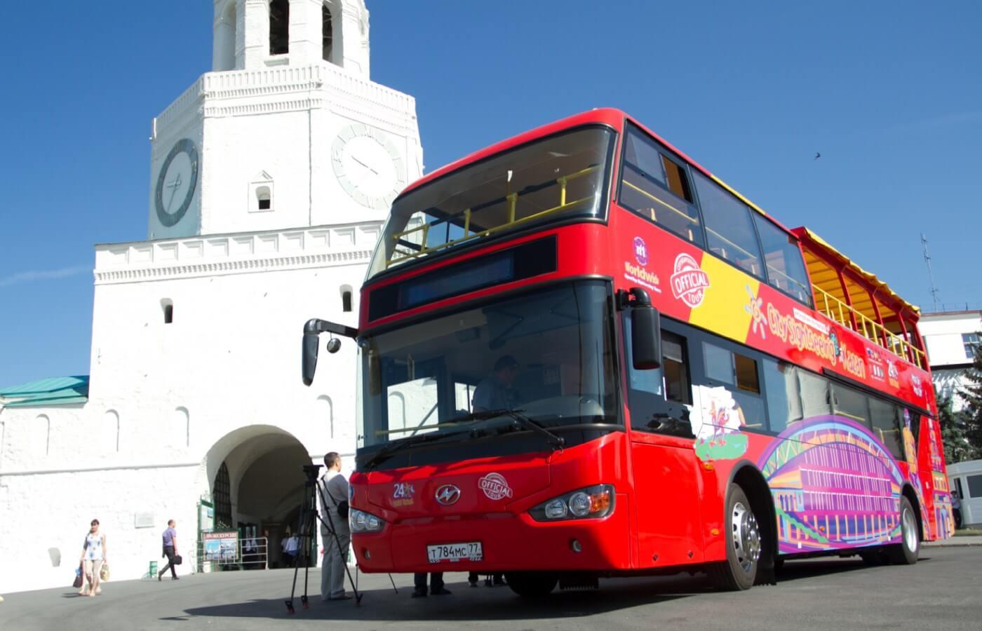 Экскурсии в Казани на автобусе